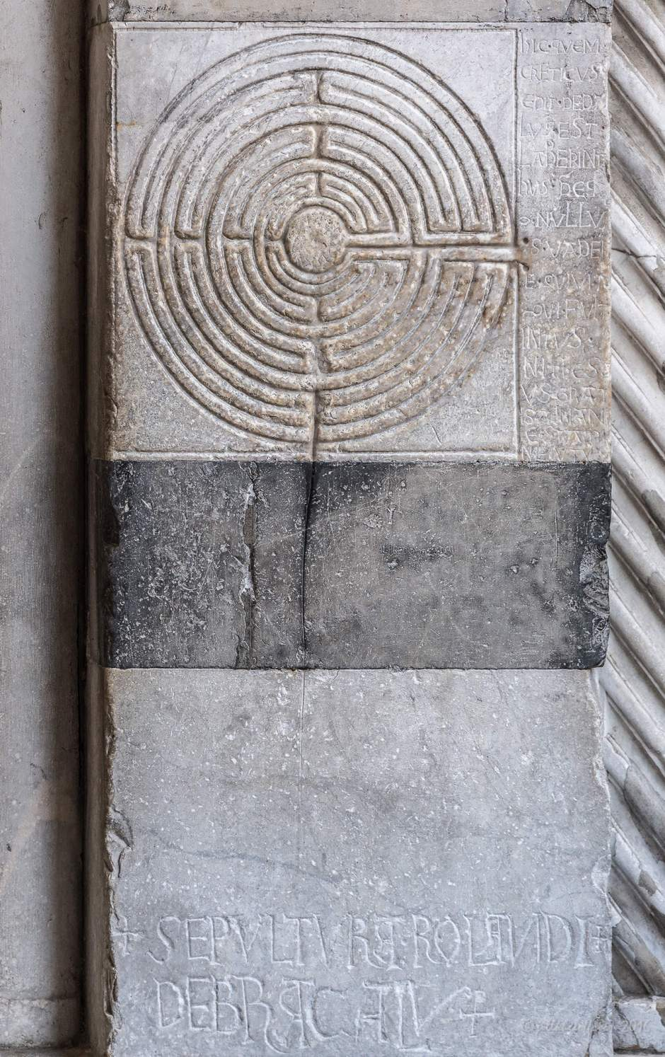 Lucca Cathedral Labyrinth by Jill K H Geoffrion